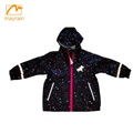 Most Popular Waterproof Printed Pattern PU Kids Rain Jackets /Rain Gear /Rain Coat for Girls