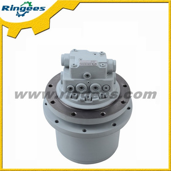 Excavator hydraulic drive motor final drive travel motor for Hydraulic track drive motor