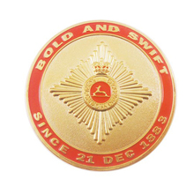 Hot Wholesale Custom 3d Gold Souvenir Medallion Metal Challenge Coin
