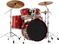 China manufacture TPJ 5 PCS drum set