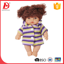 9 PCS 10 Inch fat silicone baby doll With 12 Sound IC