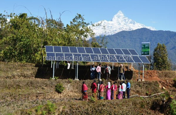 Renewable World awarded grant from Big Lottery Fund for solar water pumping in Nepal