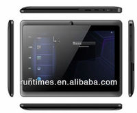 High quality cheapest 7 inch allwinner A13 android 4.0 ram 512mb rom 4gb tablet pc Q88