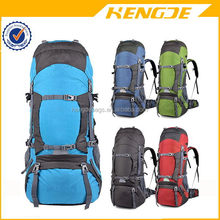 Hardwearing Outdoor Hiking Backpack Camping Backpack With Rain Cover