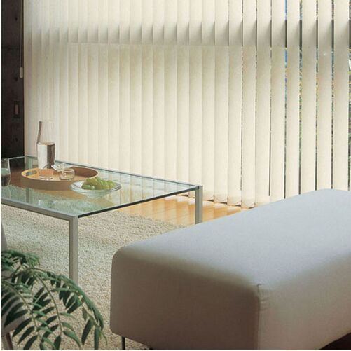Total black out vertical blinds shade Double coating full shading fabric