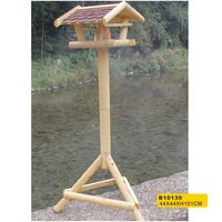 2014 new design stand wooden bird house