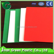 Jinan Green Plastic Insulated Corrugated Sheet For Building & Construction