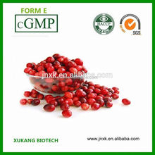 GMP Supplier Anthocyanidins cranberry extract powder procyanidin