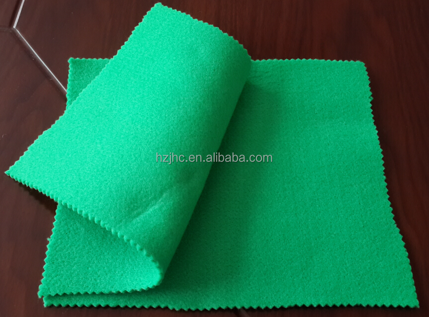 JHC good quality needle punched properties of felt fabric