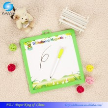 baby education artpaper eraser magnetic writing board, Plastic frame cork children writing memo white board