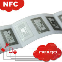 RFID nfc chip, NFC ntag 213, wet inlay smart card inlay