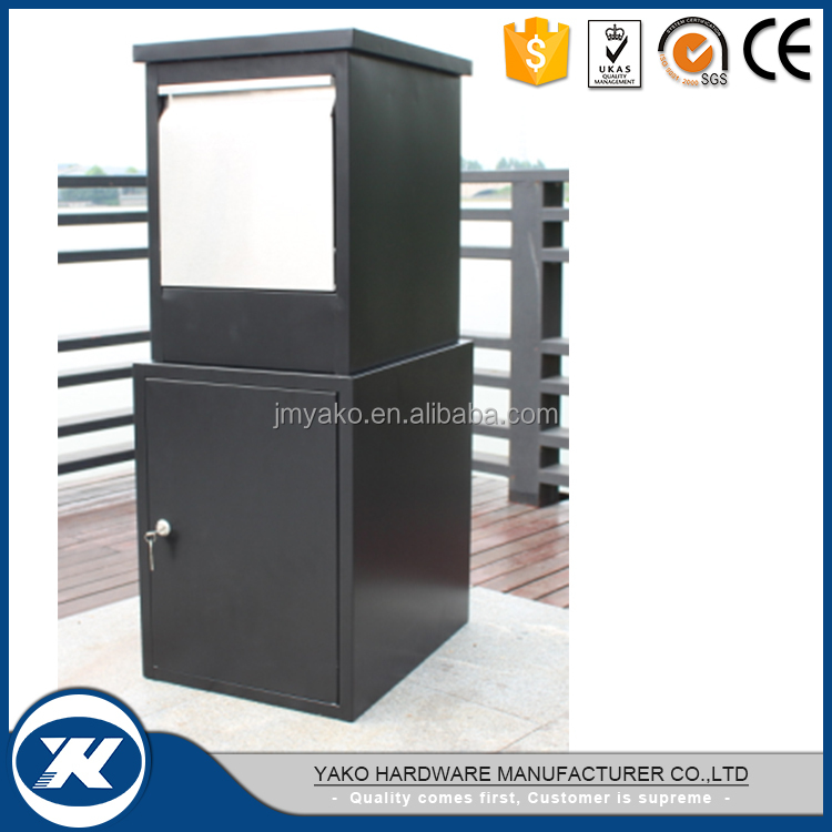 new design metal parcel box drop box
