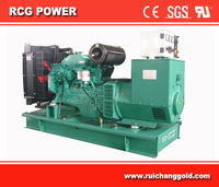 80kw/100kva Powered By Cummins 6bt Engine Generator
