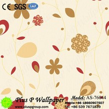 Fashion New Collection Korea Non-woven Wallcovering/Bedroom Wallpaper