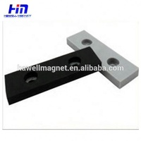 Rubber Coated Block Magnets/strong rubber coated neodymium magnets