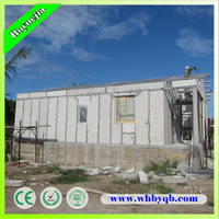 Sound Insulation EPS Sandwich Panel Prefab House for Hotel