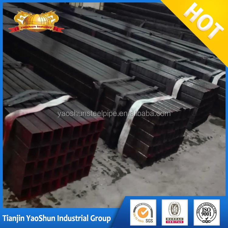 galvanized/ oiled/ Color painting Surface Treatment rectangular/square steel tube/pipe