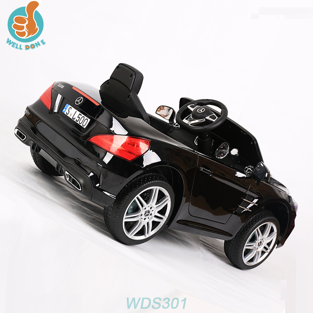 WDS301 Licensed Mercedes SL500 Great Ride On Car Benz Model With Power Display
