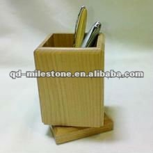 China eco-friendly wooden pencil case manufacturer