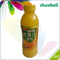 100% Pure mango juice with mango pulp