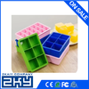 Eco-friendly hot sale perfect soft circle silicone ice tray for Christmas