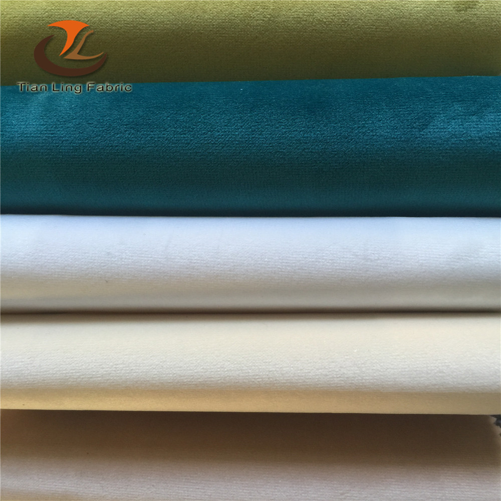 280cm wide width high density good quality heavy weight Holland french lisi micro cut velvet upholstery sofa curtain fabric