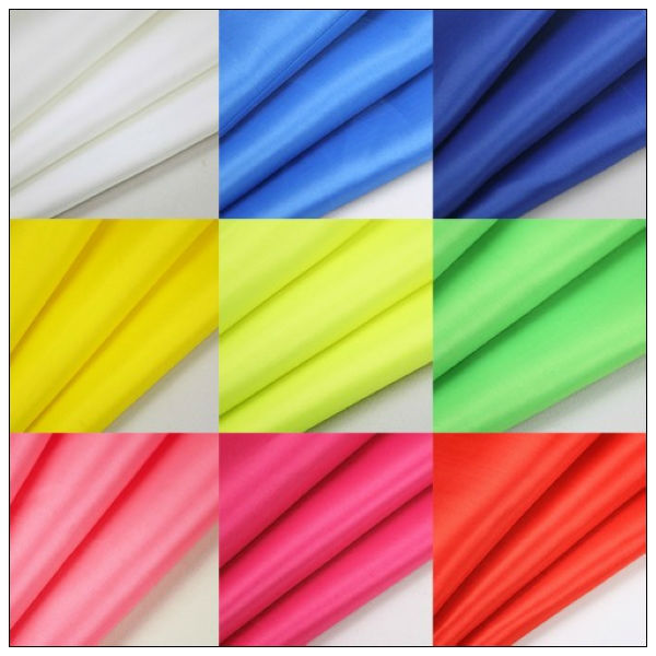 silver coating 190T polester taffeta pu coated stretch fabric,waterproof clothing material at factory price
