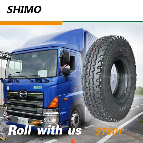 SHIMO ST901 truck tire export to south africa 12.00R24