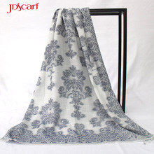 long women hijab muslim polyester wrap shawl latest design scarf