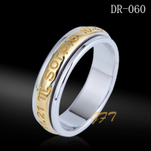 Wholesale 925 sterling silver name engraved wedding ring