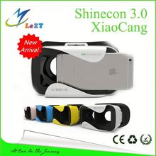 VR MV100 PK VR Shinecon 3D Glasses Google Cardboard HD Glasses for 3.5-6.0 inch Phone+Remote Gamepad Controller VR BOX 3.0