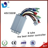 6 tube 48V/350W the best brushless DC motor controller for electric tricycle