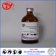 GMP Oxytetracycline Hcl 20% Injection for cattle/fowl/pig/pets Veterinary use