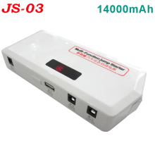 Hot sale!!emergency car jump start kit 14000mAh 12V vehicles multi-function car power bank
