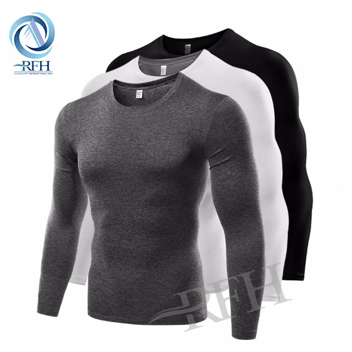 New premium seamless plain t shirts printing dri fit shirts wholesale
