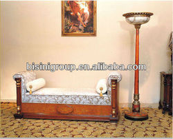 Modern design wooden hotel bedroom bench sofa and clothes rack (BG90306)