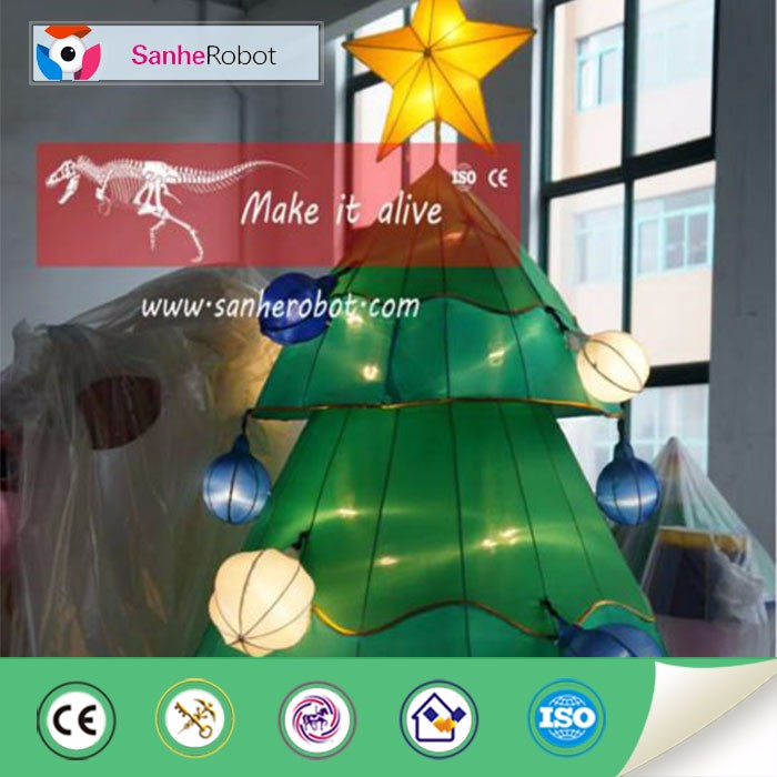 Outdoor led christmas tree decoration lantern