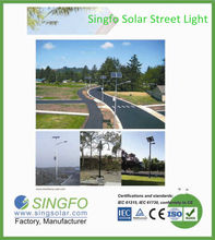 160W high efficiency LED solar street lighting IP 65