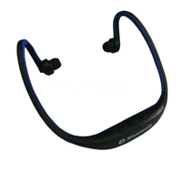 Factory direct sales sports earphone mp3/mp4 player sports wireless bluetooth headset headphone