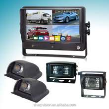 9 inch truck camera system for bus