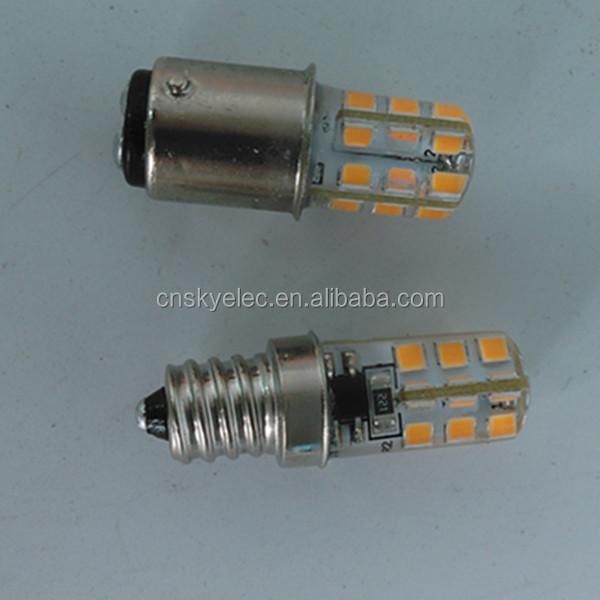 E10 60v Led Amusement 3014 Smd Silicone Bulbs E10 220v Led