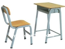 Professional furniture manufacturer produce School plywood desk and chair