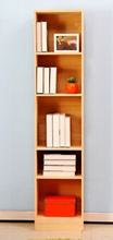 Particle board tall kid book shelf/library book shelf/bookcases for Europe market