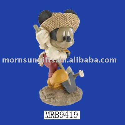 polyresin Micky Mouse figurine