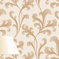 textured modern good quality 3D vinyl wallpaper for home deco