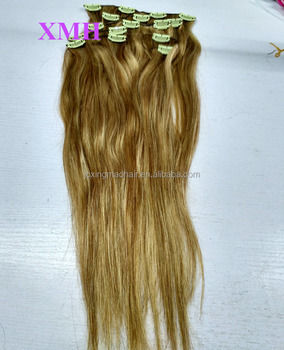 New arrivals customized virgin brazilian hair, clip hair extensions dubai
