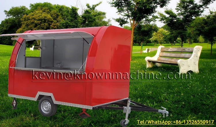 Supply the popular KN-FR 290B Mobile trailer for fast food