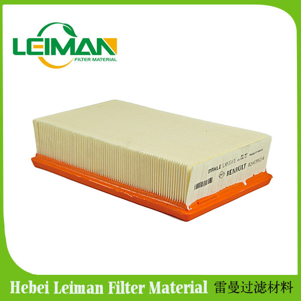 Filter paper for light car plate filter in Leiman, wood pulp air filter paper