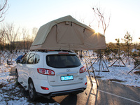 Roof Top Tents tent Camper Trailer 4WD 4X4 Camping Car with side awning