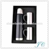 The New Design Wide Mouth Travel Pot And Mugs As One Set